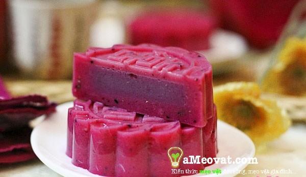 Cách làm bánh trung thu rau câu thơm ngon nhất - Huong dan lam banh trung thu rau cau