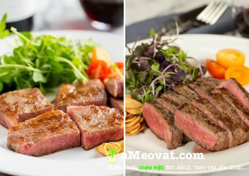 Bò bít tết thơm ngon, mềm mại - Cách làm bò bít tết