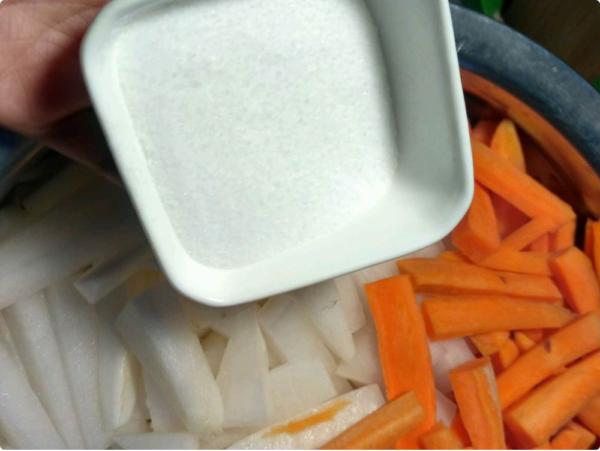 Cách làm củ cải trắng muối chua ngọt