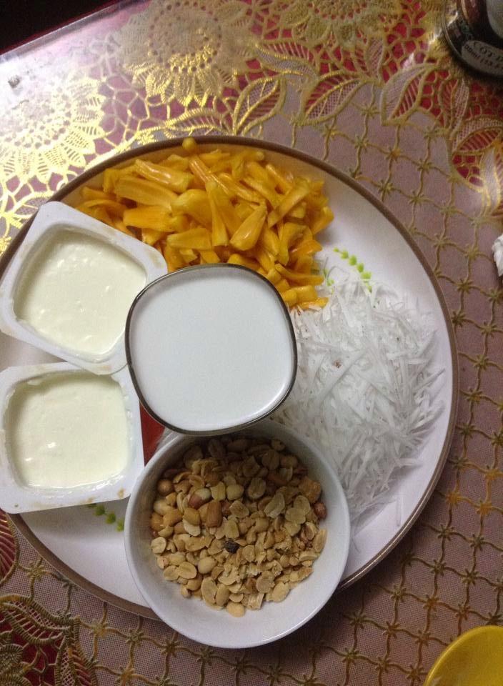 Các nguyên liệu chính là kem mít - cách làm kem mít tại nhà