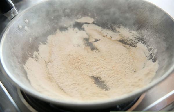 Rang bột nếp - cach lam mut lac