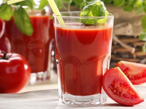 Cách làm sinh tố cà chua - Sinh tố cà chua thơm ngon bổ dưỡng