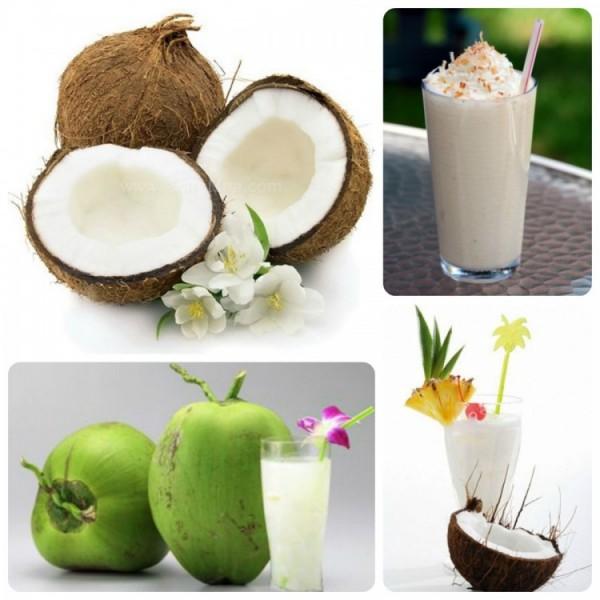 Sinh tố dừa - cách làm sinh tố dừa
