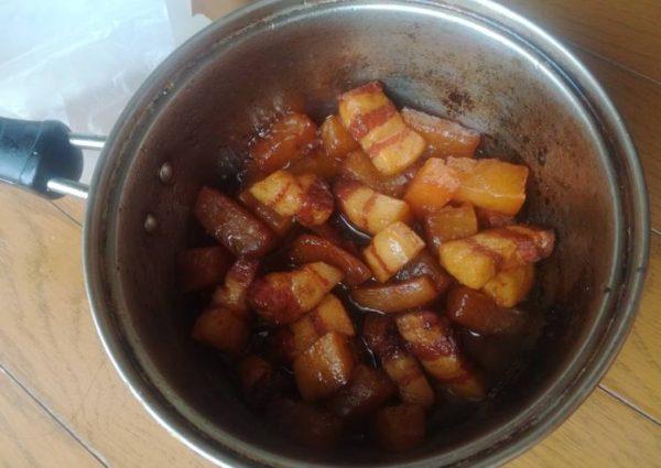 cách làm thịt ba chỉ kho củ cải