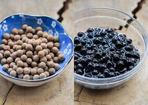 trân châu - Viền hạt trân châu nhỏ sẽ chín nhanh hơn