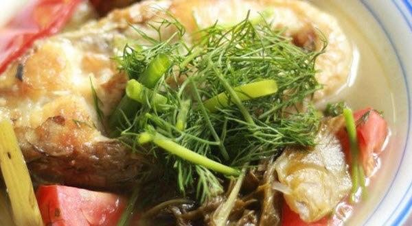 cách nấu canh chua cá thu