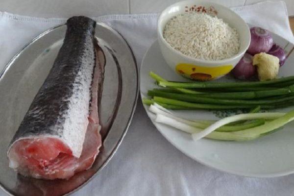 Nguyên liệu nấu cháo cá lóc - cách nấu cháo cá lóc cho bé