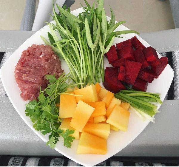 Nguyên liệu nấu cháo dinh dưỡng cho bé 6 - 7 tháng
