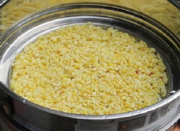 Đồ chín đậu xanh - cách nấu chè hoa cau