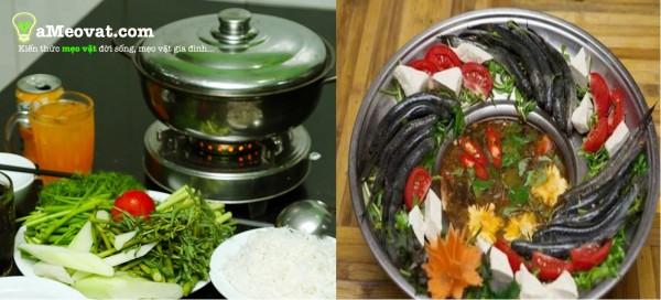 Cách nấu lẩu cá diêu hồng và lẩu cá kèo thơm ngon - lau ca dieu hong va lau ca keo