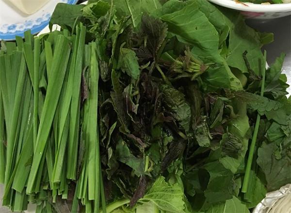 Các loại rau ăn kèm lẩu dê - cách nấu lẩu dê thuốc bắc