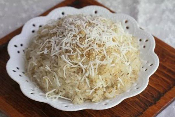 Cách nấu xôi dừa thơm ngon không khó ngay tại nhà - cách làm xôi dừa