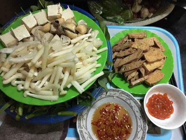 Món lẩu Thái chay