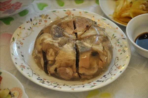 Thịt nấu đông - món ăn ngày Tết miền Bắc