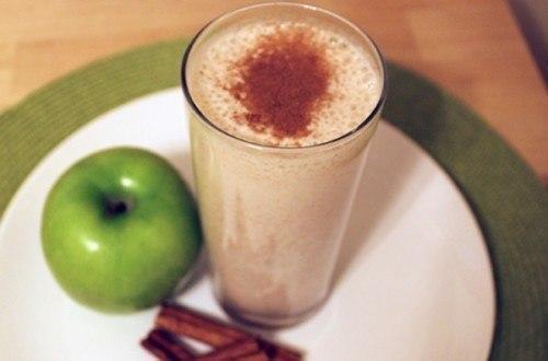món sinh tố táo