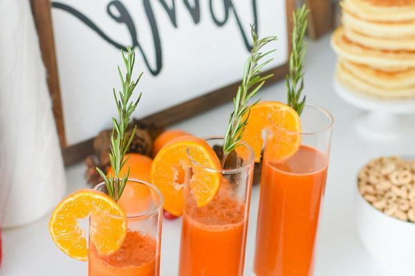 nước ép cà rốt cam