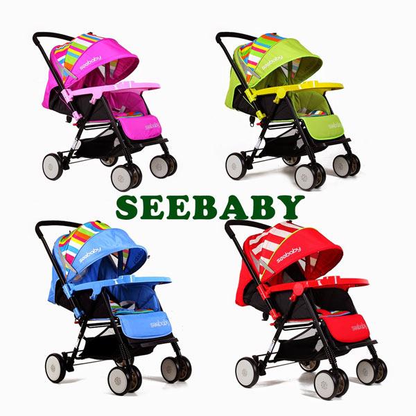 xe đẩy em bé seebaby