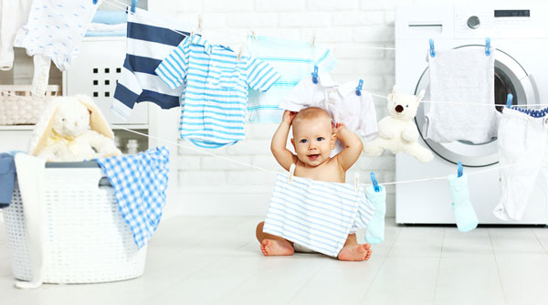 nước giặt cho trẻ sơ sinh