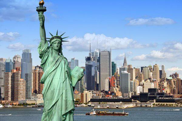 Tượng nữ thần tự do ở Mỹ