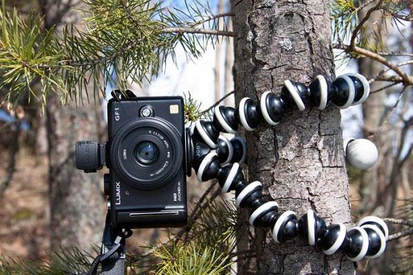 Máy ảnh không cơ động như điện thoại