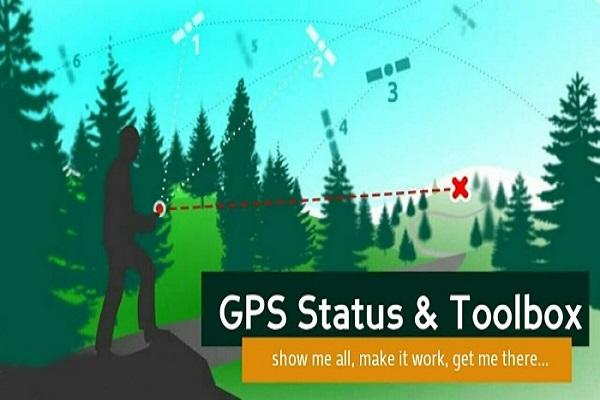 Ứng dụng GPS Status & Toolbox không thể thiếu khi đi phượt