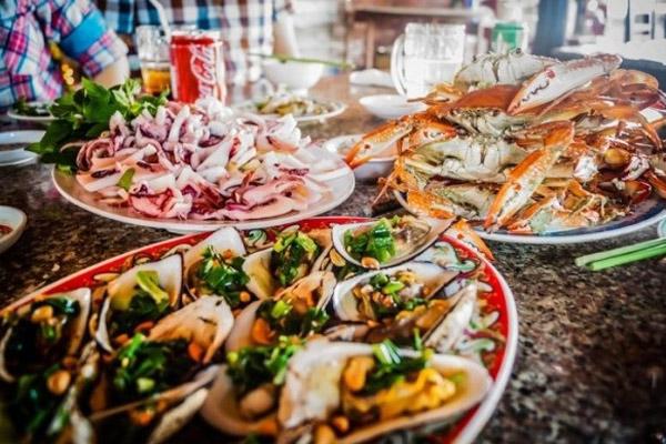 ăn gì ở Hồ Cốc