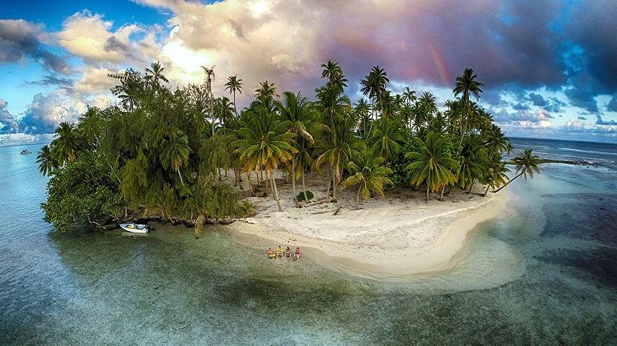 Đảo Mất tích, Tahaa, quần đảo thuộc Pháp.