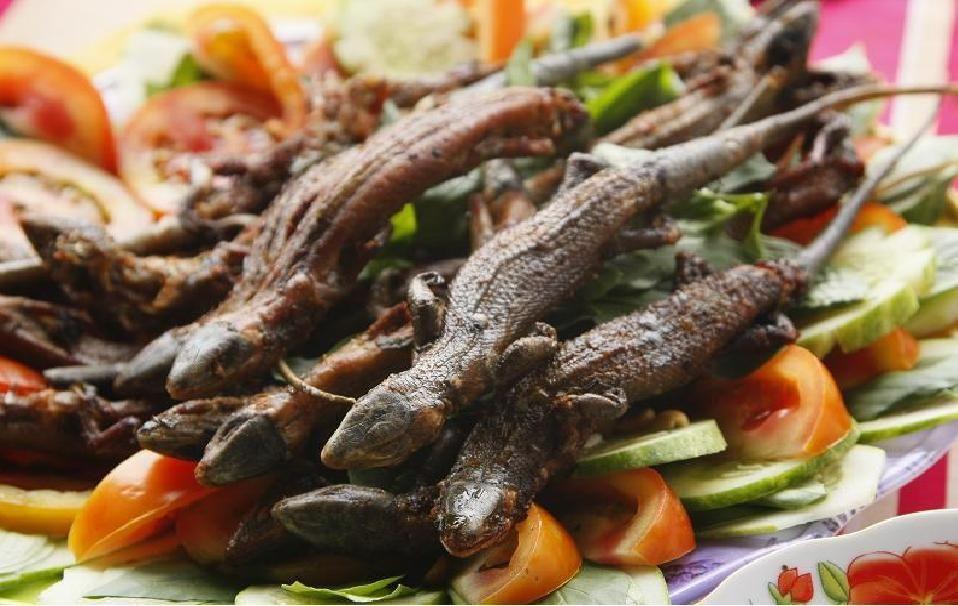 Những món ăn kinh dị ở Việt Nam khiến bạn rùng mình kinh hãi. Kỳ 1