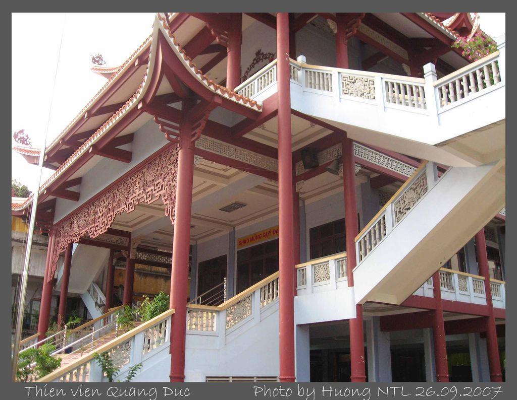 Thiền viện được tu sửa năm 2004
