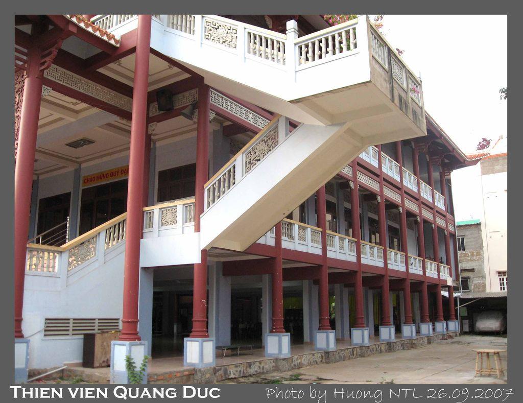 Quang cảnh thiện viện Quảng Đức