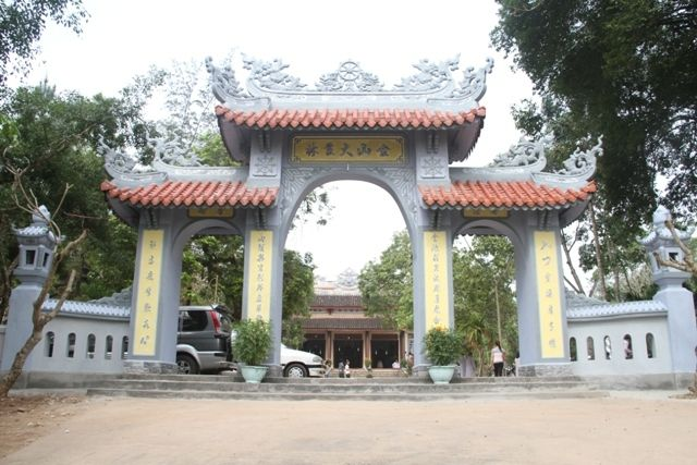 Cổng Chùa Kim Sơn