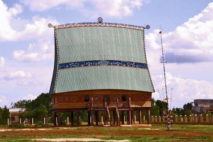 Nhà Rông Tây Nguyên được người dân Kon Tum gìn giữ và phát triển