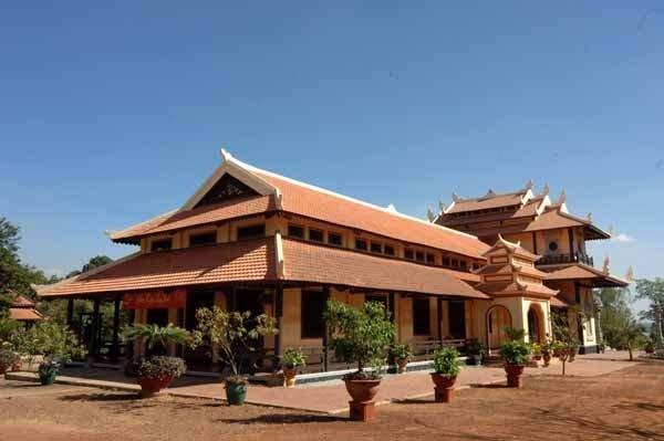 Toàn cảnh chùa Bửu Long ho chi minh