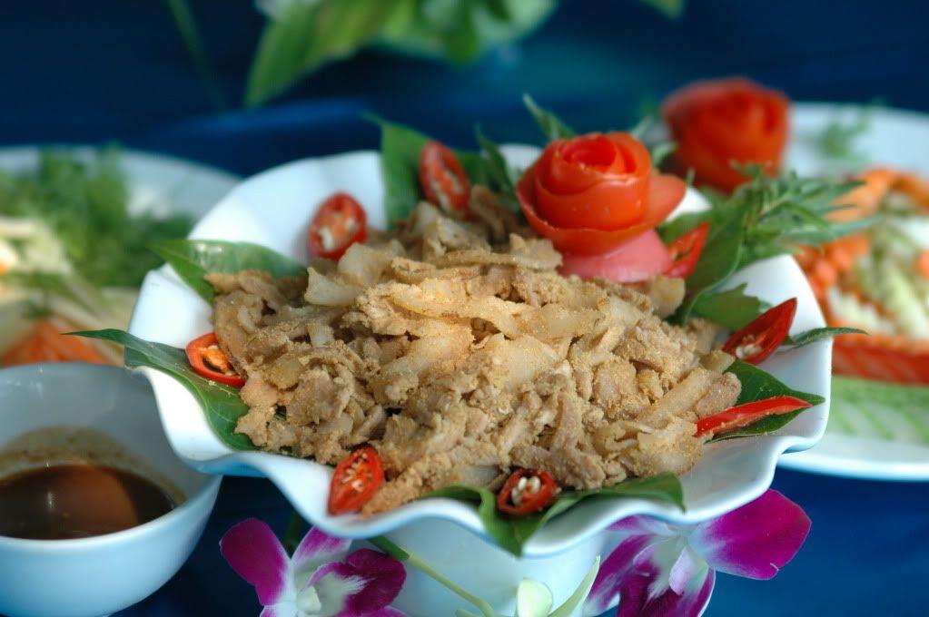 thịt chua Thanh Sơn