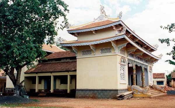 Chùa được xây dựng năm 1962