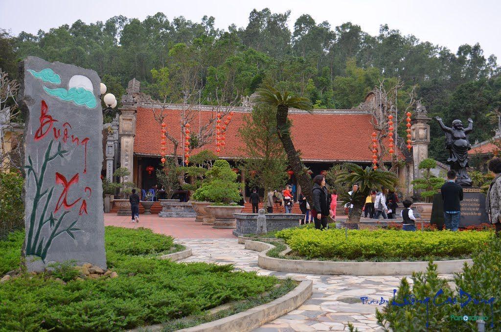 Khuôn viên Chùa Hồng Phúc Hải Phòng