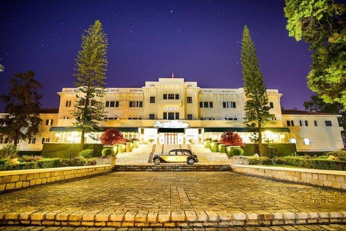 DaLat Palace lộng lẫy về đêm