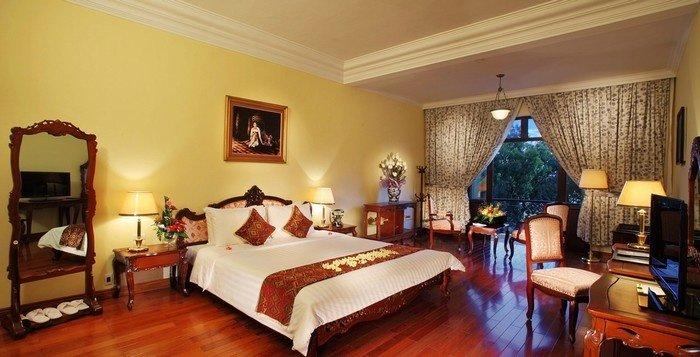 Căn phòng mang đậm phong cách cổ điển