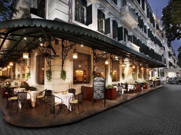Quán cà phê mang phong cách Pháp của Sofitel Metropole Ha Noi