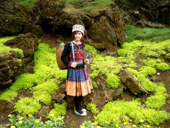 Váy hoa dân tộc Hmông, bông hoa giữa núi rừng Tây Bắc