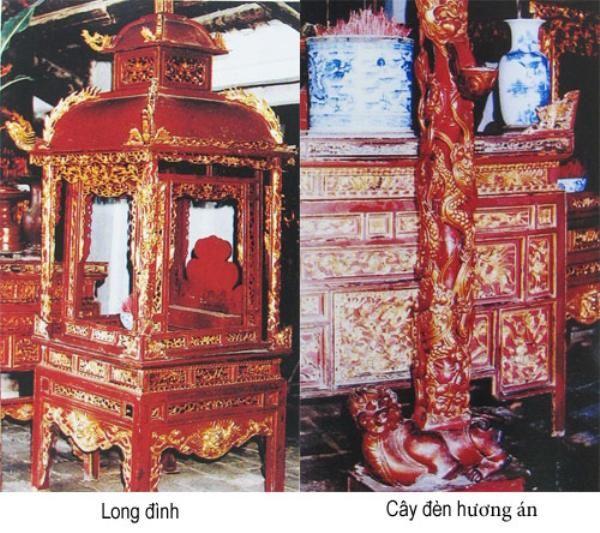 Các cổ vật tại Đình Nhu Thượng Hải Phòng