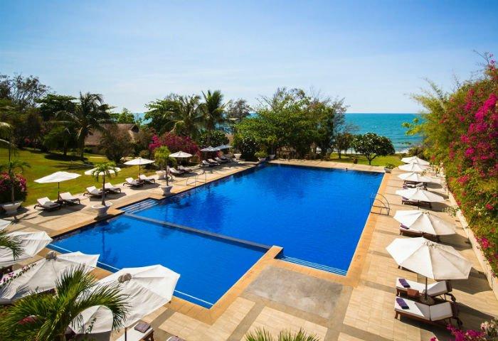 Khu nghỉ dưỡng cao cấp bên bờ biển - Ảnh: The Victoria Phan Thiết