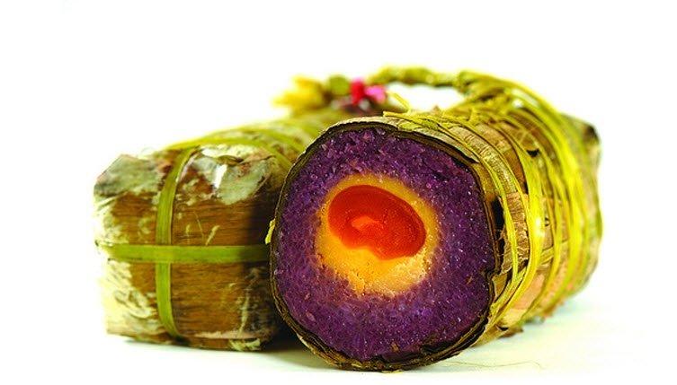 Bánh chưng cẩm Lạng Sơn