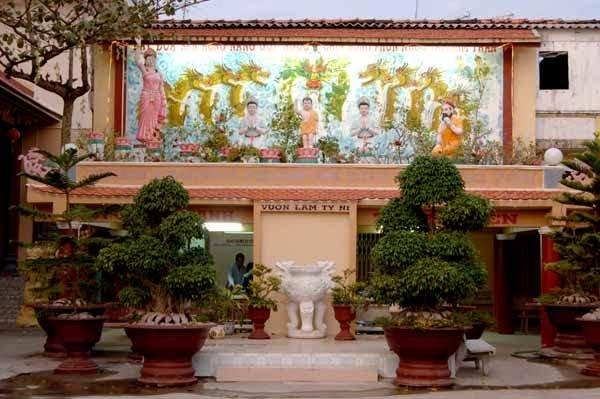 Vườn lâm tì ni - chùa Khánh Sơn