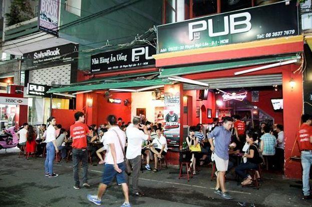Những địa điểm chơi bar/pub lý tưởng cho giới trẻ Sài Thành