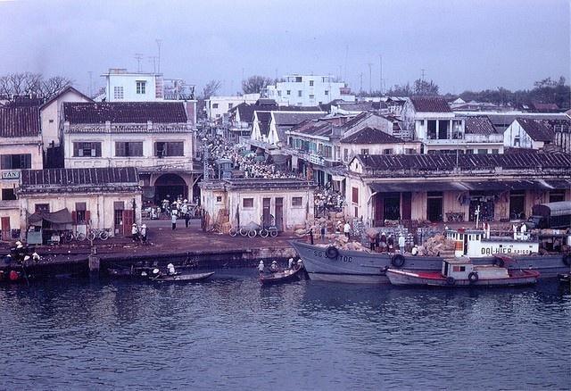 Chợ Hàn bên sông ngày nào