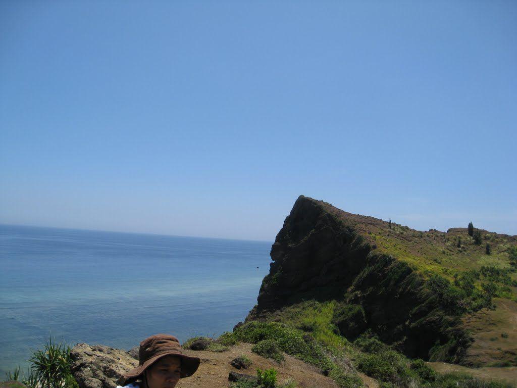 Đỉnh Liêm Tự là nơi cao nhất ở núi Giếng Trời nơi chùa Đục tọa lạc