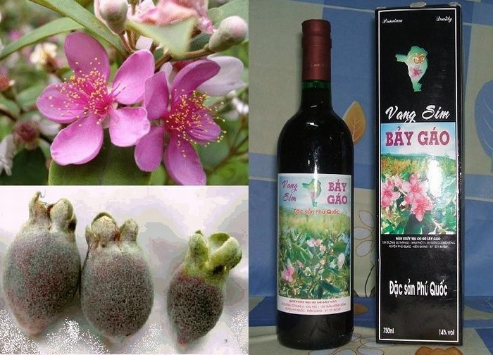 Từ loại trái cây rừng, người dân đã chế biến thành loại đặc sản nổi tiếng