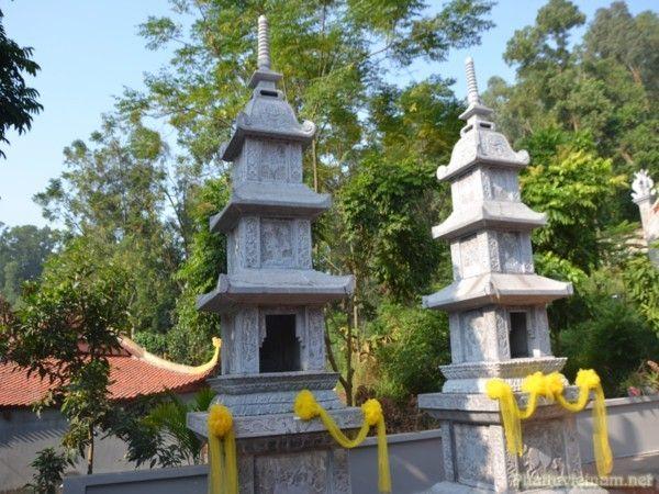 Khuôn viên Chùa Hàm Long Hải Phòng