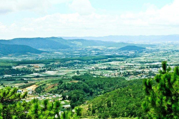 Thị trấn Dran-Có một xứ sở xanh tràn đầy sức sống ở huyện Đơn Dương (tỉnh Lâm Đồng)